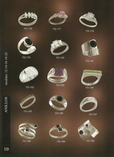 Joyas de plata fina por catalogo